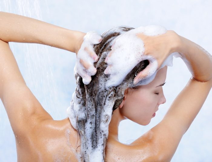 Methods of washing the hair. Choose the best option